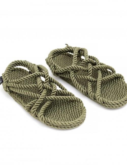 Sandales en corde bohème - Boutique l'ananas