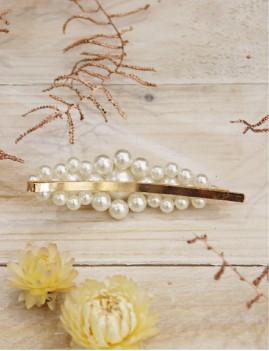 Barrette grosses perles - Boutique l'ananas