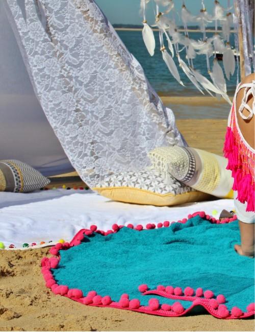 Baby serviette de plage bohème - Boutique l'ananas