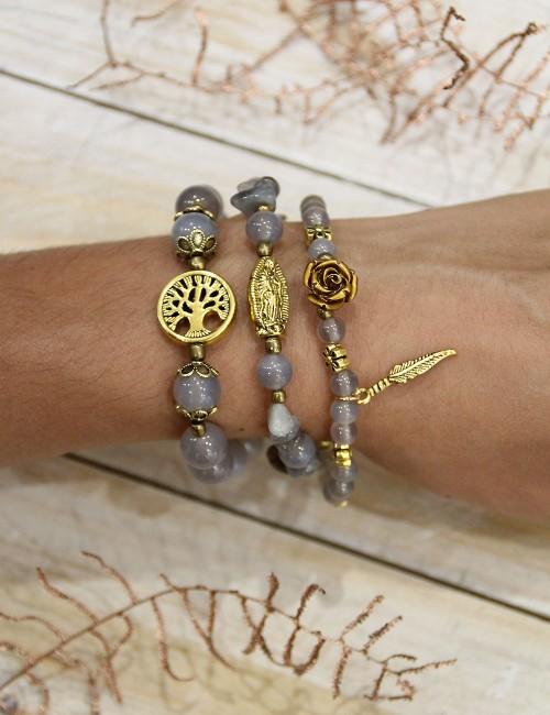 Bracelet collier vierge - Boutique l'ananas