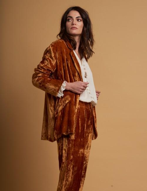Pantalon gypsy en velours - Boutique l'ananas