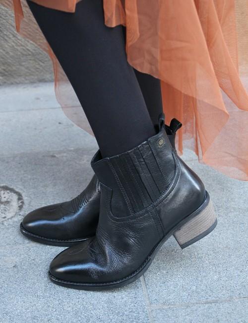 Boots en cuir gypsy - Boutique l'ananas