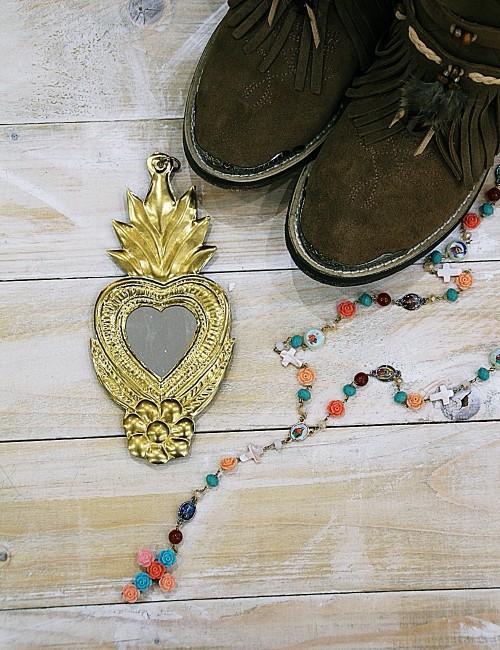 Miroir coeur - Boutique l'ananas
