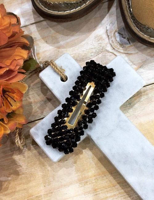 Barrette à perles bohème - Boutique l'ananas