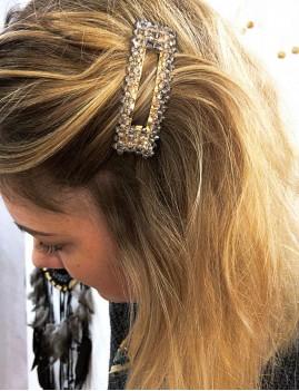 Barrette perles gypsy - Boutique l'ananas