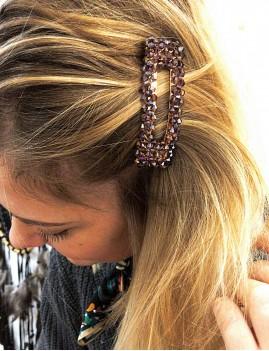 Barrette en perles hippie - Boutique l'ananas