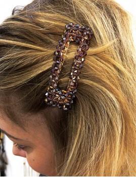 Barrette en perles gypsy - Boutique l'ananas