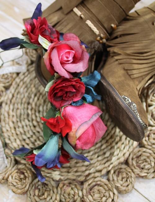 Couronne de fleurs - Boutique l'ananas
