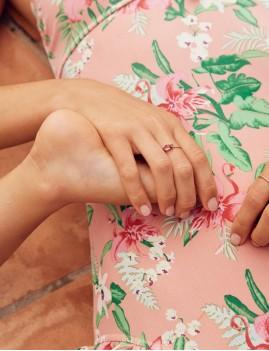 Maillot de bain fleurs - Boutique l'ananas