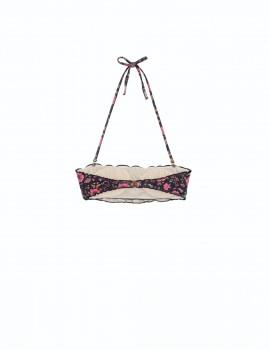 Bikini à volants imprimé floral gypsy style - Boutique l'ananas