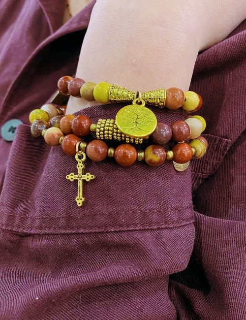 Bracelet et/ou collier perles - Boutique l'ananas