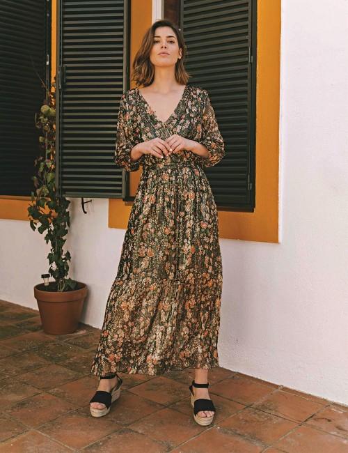 Robe longue noire - Boutique l'ananas