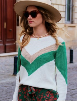 Pull en maille gypsy - Boutique l'ananas