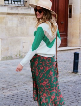 Pull en maille gypsy chic - Boutique l'ananas