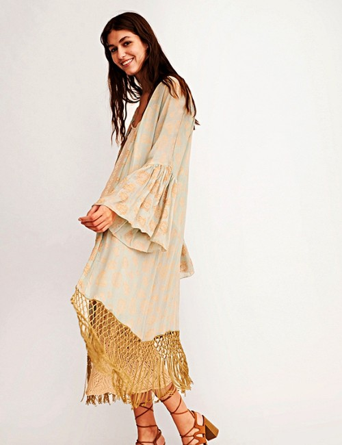 Kimono boho style - Boutique l'ananas
