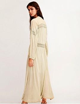 Robe longue d'été gypsy - Boutique l'ananas