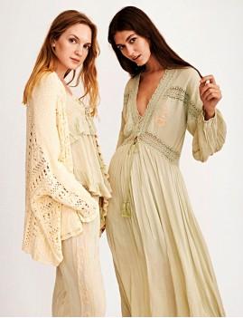 Robe longue d'été boho style - Boutique l'ananas