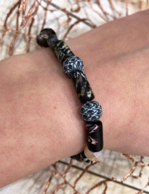 Bracelet perles de gomme - Boutique l'ananas