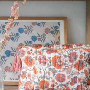 Votre trousse de toilette ou une jolie pochette de rangement, à vous d'en décider .. 🤩🌸 www.boutique-lananas.com   #troussedetoilette #pochettefleurs #fleurs #flower #troussetoilette #bordeaux #boutiquelananas #troussemaquillage #home #sweethome